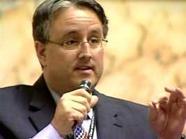 """In 2011, the Senate's only openly gay member, Sen. Richard Madaleno, D-Montgomery County, grabbed the attention of lawmakers by talking about his partner, whom he married 10 years ago, saying, """"He is my spouse in every sense of the word, but to the law, he remains a legal stranger."""" Madaleno and his husband have two daughters."""
