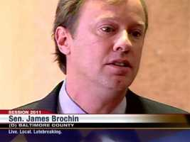 """Senators weighing their decision to support or oppose the 2011 bill inched forward as the vote neared. Baltimore County Sen. James Brochin, D-District 42, said this on Feb. 11, 2011, """"I try and go into every hearing with an open mind and I thought about it, and I thought, 'Do I want to be on the same side and listen to these arguments, what I'm hearing here?' I can't do it."""""""