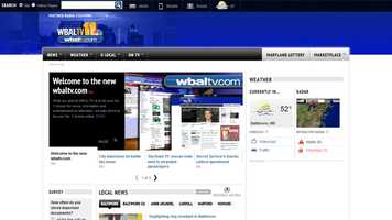 Welcome to the redesigned WBALTV.com that's cleaner and less cluttered while maintaining its focus on delivering latebreaking news from across Maryland from the people you trust. From all of us on TV Hill, we invite you to take a look at our live, interactive website and mobile apps. (See a site map here.)