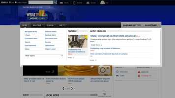 "The new navigation ""fly-out"" menus are designed to take you to your favorite content quickly, while hiding away so you can browse the site in full size. This is the News fly-out menu, where you can find the latest news and information, in addition to links to our reporters' beats, from Medical Alert to Consumer Alert and Tim Tooten's Educaton Alert and the Water Cooler."