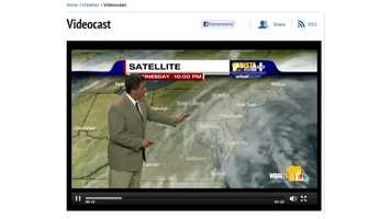 Watch the latest forecast from the 11 Insta-Weather PLUS center.