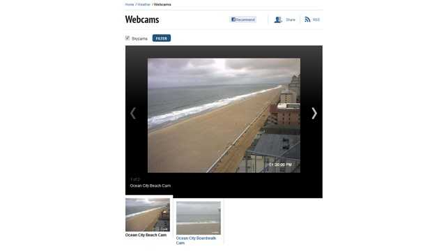 Our live webcam timelapse photos are posted online.