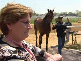For 12 years, Georganne Hale has organized the races at Pimlico Race Course. Racing all her life, she's known as the first lady of racing in Maryland. | WBAL-TV