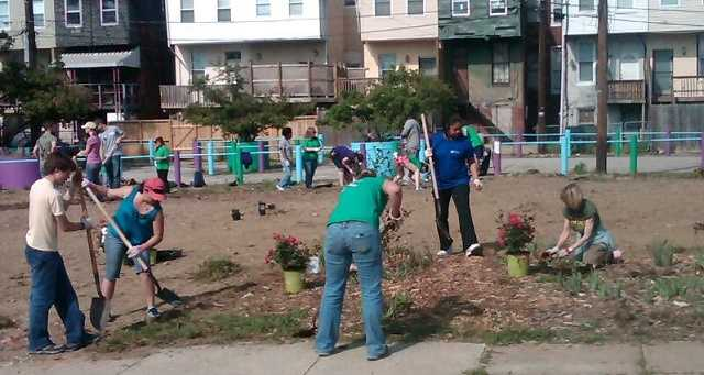 The annual Baltimore Spring Cleanup spruces up neighborhoods across the city thanks to city workers and volunteers.