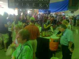The second annual Decanter Wine Festival took place Saturday and Sunday.