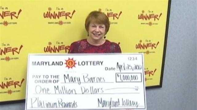 Marylee Barnes - lotto winner