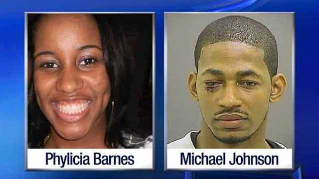 Phylicia Barnes, Michael Johnson
