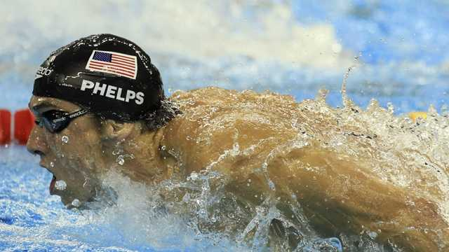 At the 2009 World Championships Phelps won five races.