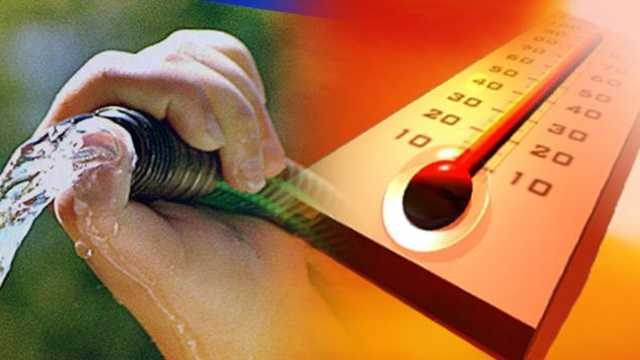 hot, dry summer, water use restrictions, drought