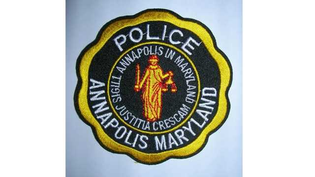 Annapolis police patch