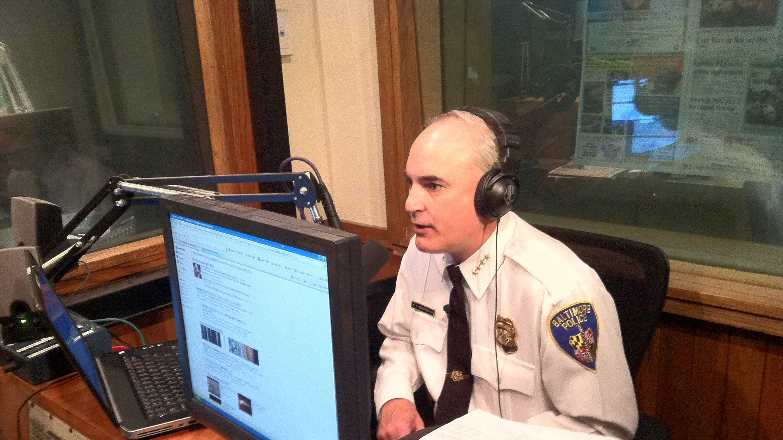 Police Commissioner Fred Bealefeld talks with the 98 Rock Morning Show.