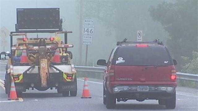 Jarrettsville Pike crash scene