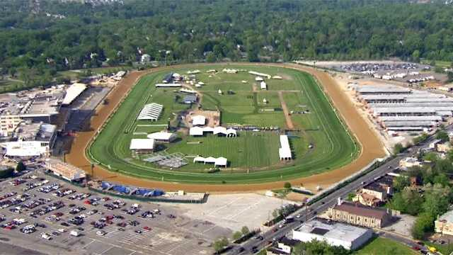 Pimlico Race Course in northwest Baltimore is home to the Middle Jewel of the Triple Crown of Thoroughbred Racing, The Preakness Stakes. | WBAL-TV\SkyTeam 11