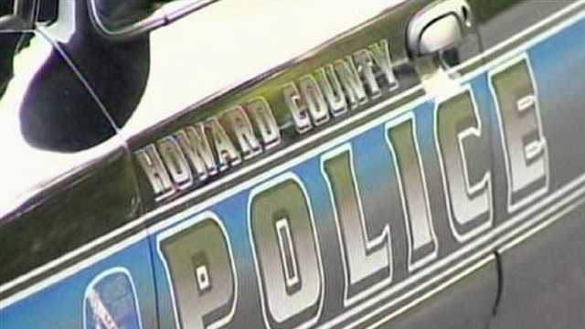 Howard County police car (door panel)