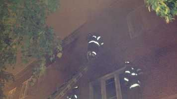 The cause of the fire remained under investigation.   Photo: Nick Eid, recon2photos