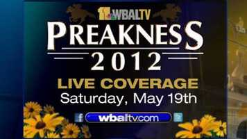 WBAL-TV 11 and WBALTV.com invite you to watch special LIVE pre-race, race time and post-race coverage on May 19.