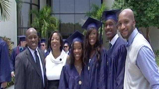triplets graduate