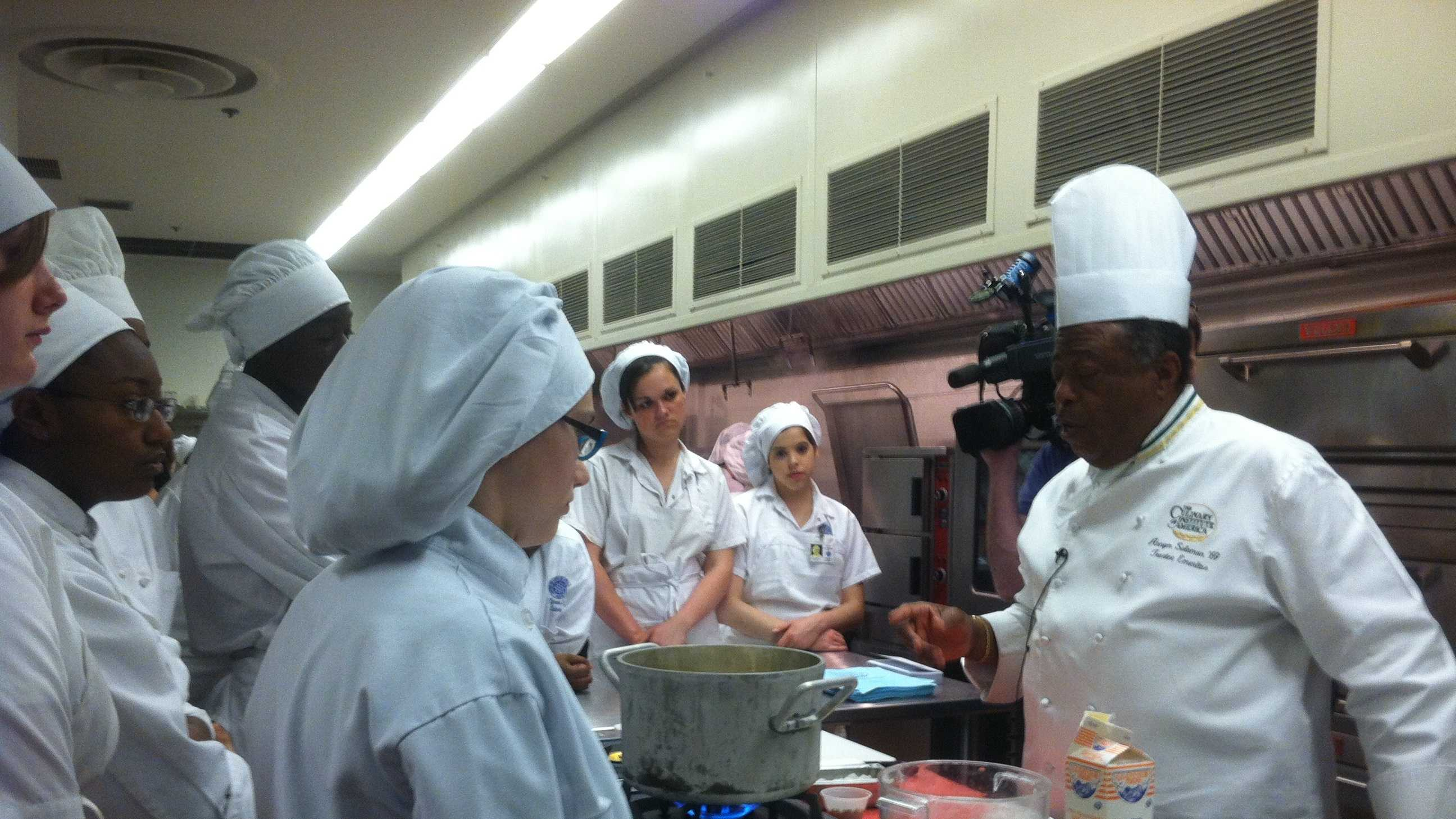 The student chefs at the Center of Applied Technology North in Anne Arundel County have been fine-tuning their skills in the kitchen all year.