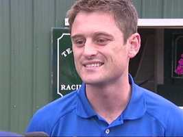 I'll Have Another assistant trainer Jack Sisterson discusses Preakness preps. | WBAL-TV