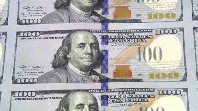 Generic money printed 3