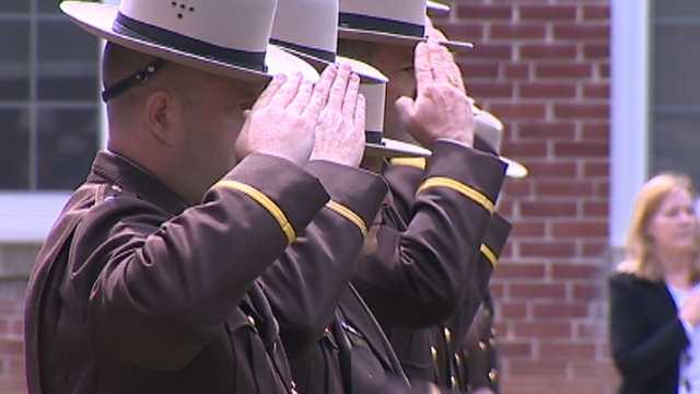 Hunter, 39, was a Marine veteran who had served the Maryland State Police for 11 years.