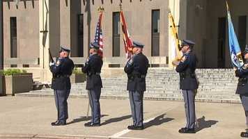 A service on May 11, 2012, remembers those who paid the ultimate price.