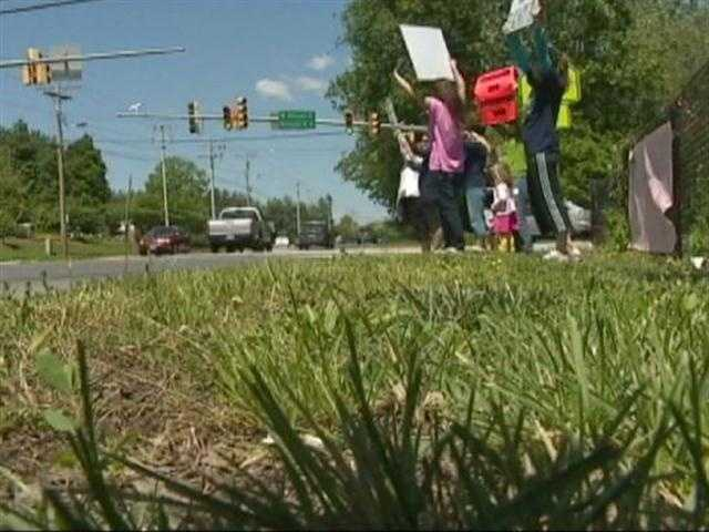 The parents have taken their protest public, where they hope to force the hand of the Anne Arundel County Council, which may have the last word.