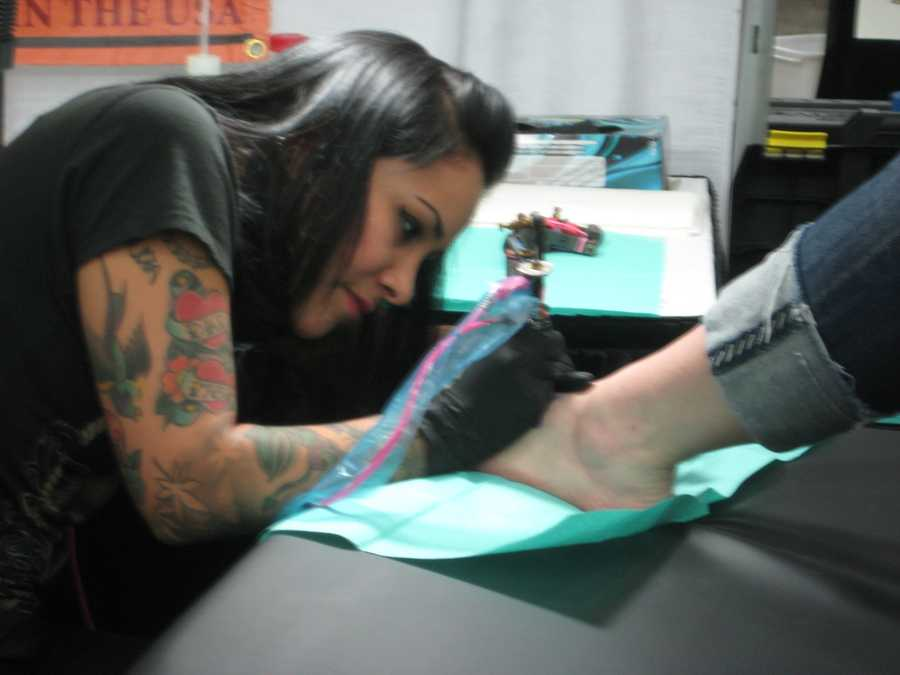 The sixth annual Baltimore Tattoo Arts Convention brings more than 500 of the world's best artists tattooing all weekend long.