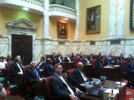 ... The Democratic majority seeks to increase income taxes and shift teacher pension responsibilities on to the 23 counties and Baltimore City.
