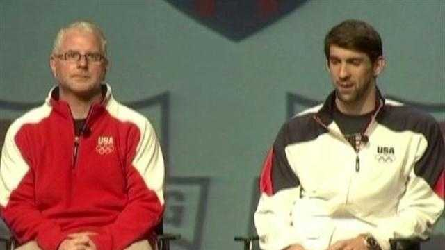 Michael Phelps and coach Bob Bowman are determined to capture gold.
