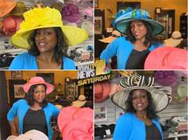 Lisa will reveal the winning hat on WBAL-TV 11 News Saturday Morning.