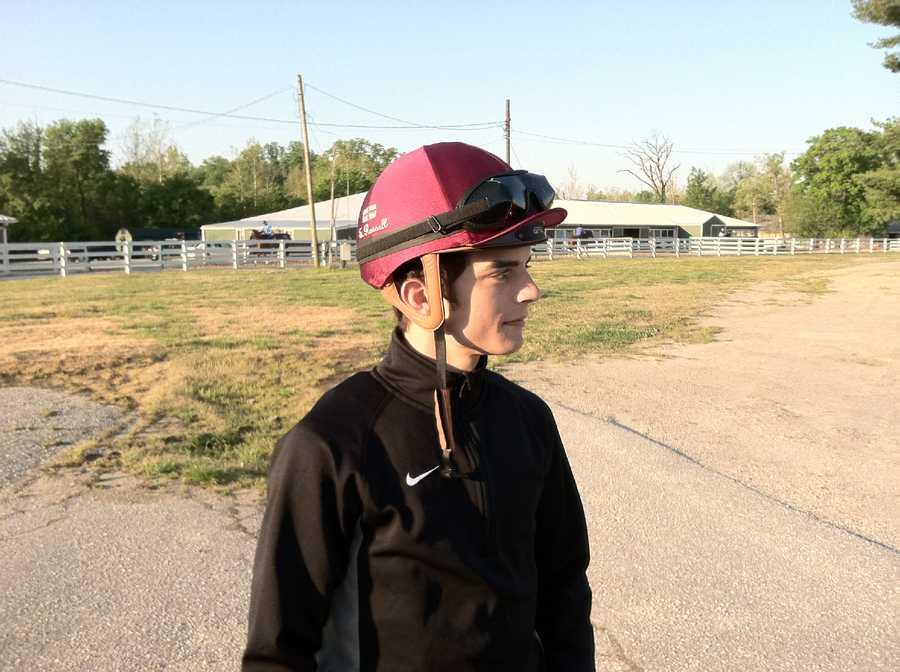 Done Talking's jockey, Sheldon Russell |WBAL-AM\Scott Wykoff