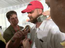You can get a sense of who the cool kid in town was during the post draw Wednesday before the Preakness. |WBAL-AM\Scott Wykoff