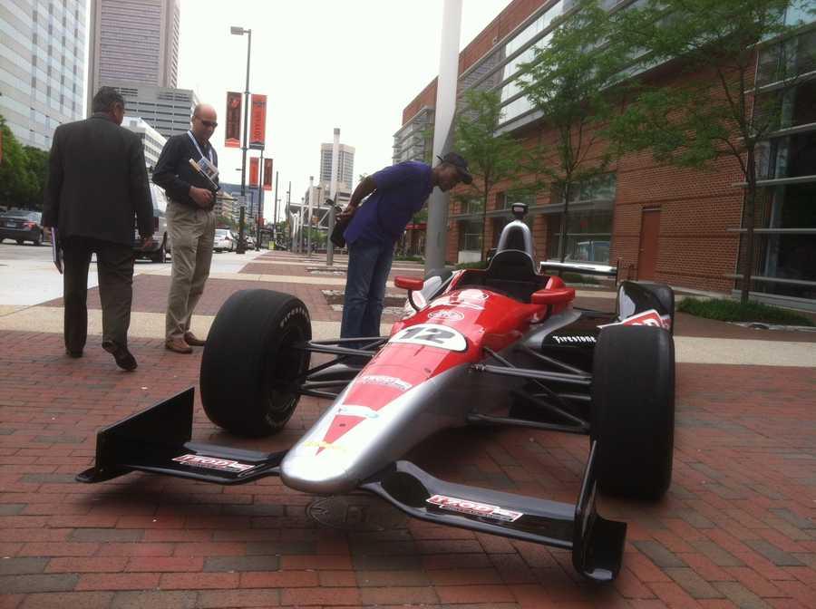 Michael Andretti calls Baltimore a world-class city that deserves a world-class event.