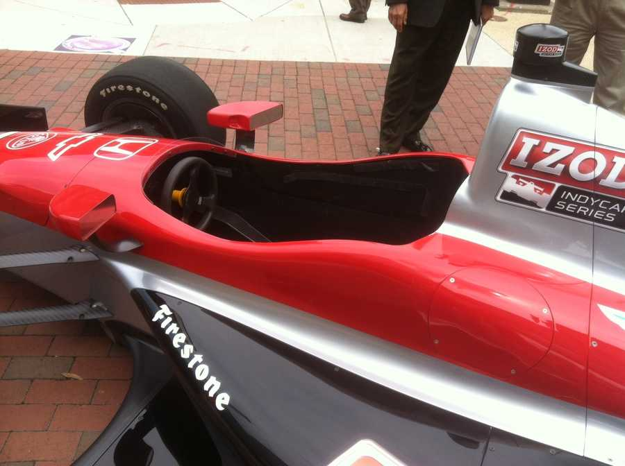 A still-upbeat Andretti said he is putting everything on the line for the Grand Prix race.