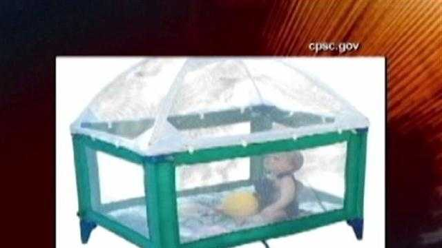 crib tent under recall