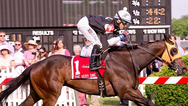 Sensible Lady wins The Very One Stakes | Jim McCue\Maryland Jockey Club