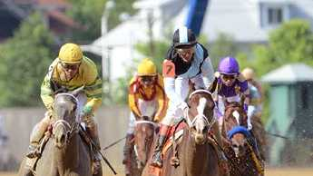 In Lingerie wins the $300,000 Black-Eyed Susan Stakes |Jim McCue\Maryland Jockey Club