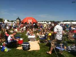 Baltimore's biggest party of the year is in the infield at Pimlico Race Course on Preakness Day.