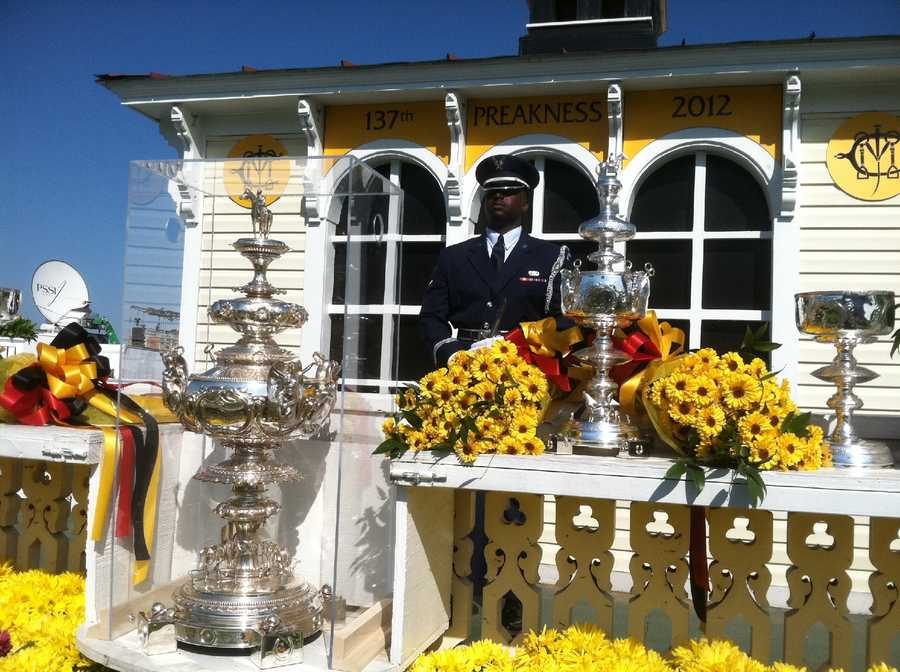 Now, the winning owner is awarded a $30,000 sterling replica on a permanent basis while the perpetual is on display at The Baltimore Museum of Art and brought to Pimlico under guard for the annual running of the Preakness.