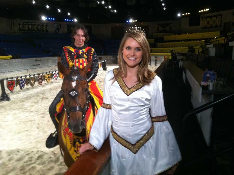 Ava Marie visits Medieval Times at Arundel Mills Mall, which just began an all-new show.