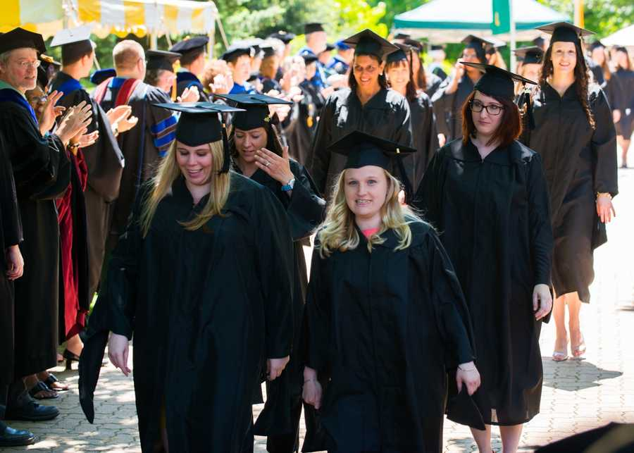 There were seven undergraduate students graduating with three majors, and two undergraduates who graduated with self-designed majors (Classical Civilizations and Archaeology, and African Studies).