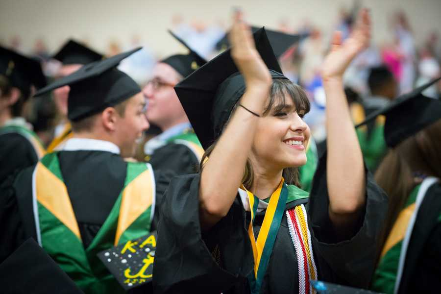 A total of 792 bachelor's and master's degrees were awarded along with four special awards -- Bachelor's degrees: 339 -- Master's degrees: 453.