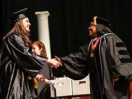 Howard Community College graduates the largest class in its 41-year history in 2012.
