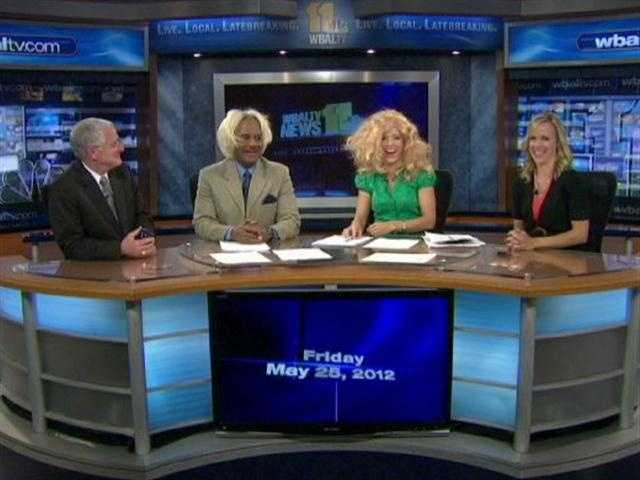 May 25 is National Wig Out Day! So the 11 News morning crew decided to have a little fun dressing the part. Watch the video.