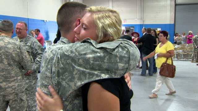 For many of the soldiers, this is their first deployment.