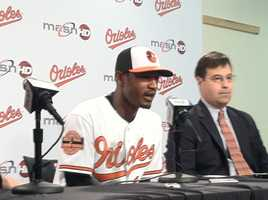 Combined with a huge presence in the community, keeping Jones became a must for the Orioles.