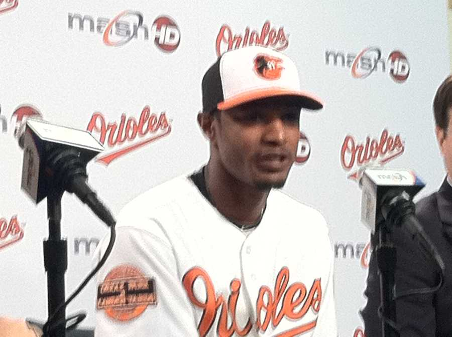 Jones was named Most Valuable Oriole by local media who cover the team in 2011 after appearing in a career-high 151 games for Baltimore. He also set career-highs in doubles (26), home runs (25), RBI (83), stolen bases (12), extra-base hits (53) and slugging percentage (.466). He led all major league centerfielders with 16 outfield assists and ranked second overall in the category among all American Leaguers.