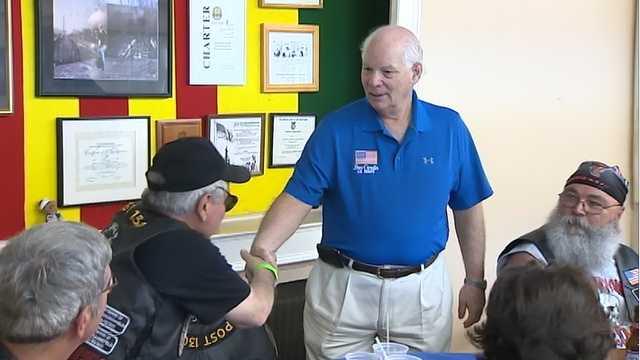 Sen. Ben Cardin spent the day reflecting with Vietnam veterans.