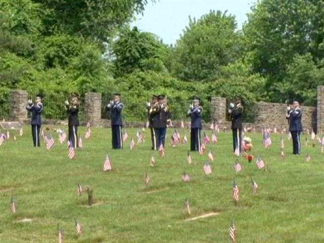 Since the first Memorial Day observance in the 1860s, more than 600,000 U.S. servicemen and women have died in war.